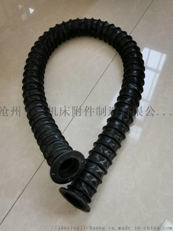 圆筒式伸缩丝杠 立柱 油缸用防尘罩 丝杠保护套834764282