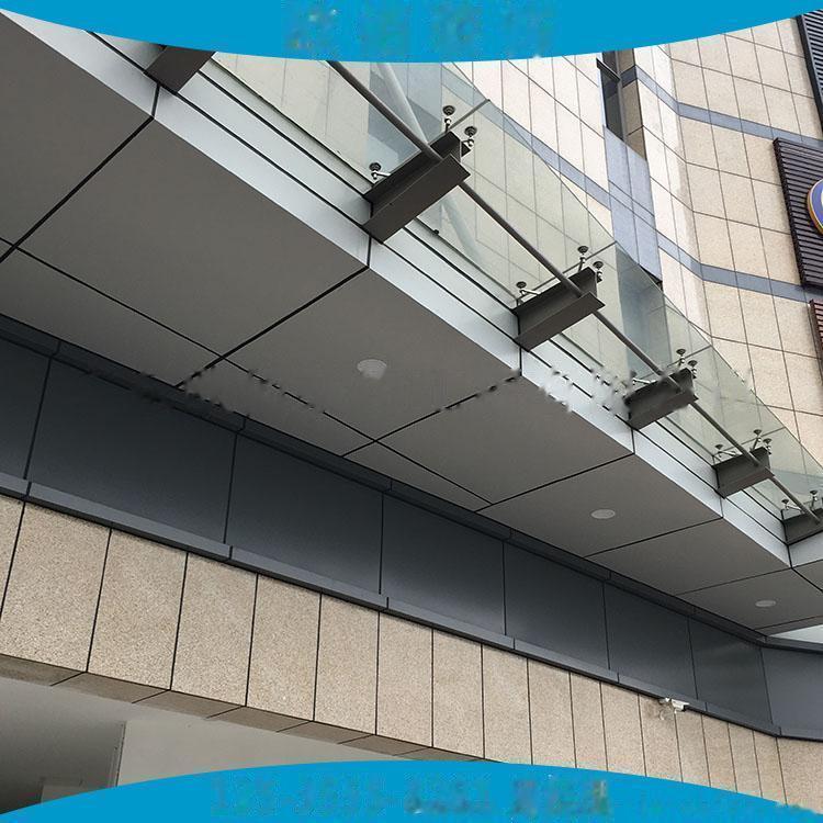 2mm车站飘蓬装饰银灰色氟碳铝单板 2.5mm雨棚氟碳银色铝单板65352895