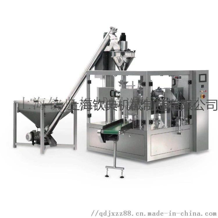 给袋式奶茶粉填充包装机、椰蓉粉灌装包装机117261125