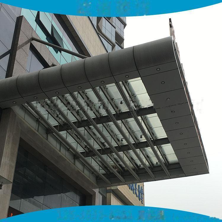 2mm车站飘蓬装饰银灰色氟碳铝单板 2.5mm雨棚氟碳银色铝单板65352885