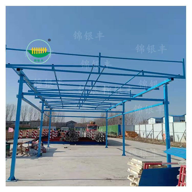 工地钢筋加工棚,双立柱防护棚生产厂家.jpg