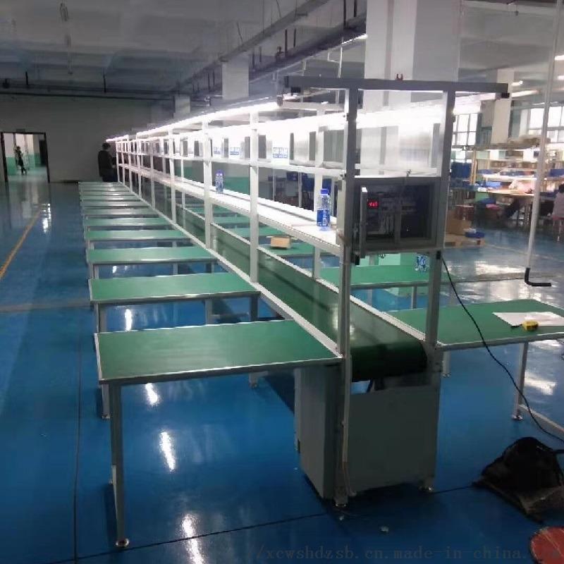 廠家直銷綠色防靜電皮帶線 輸送機流水線 高效流暢114397902