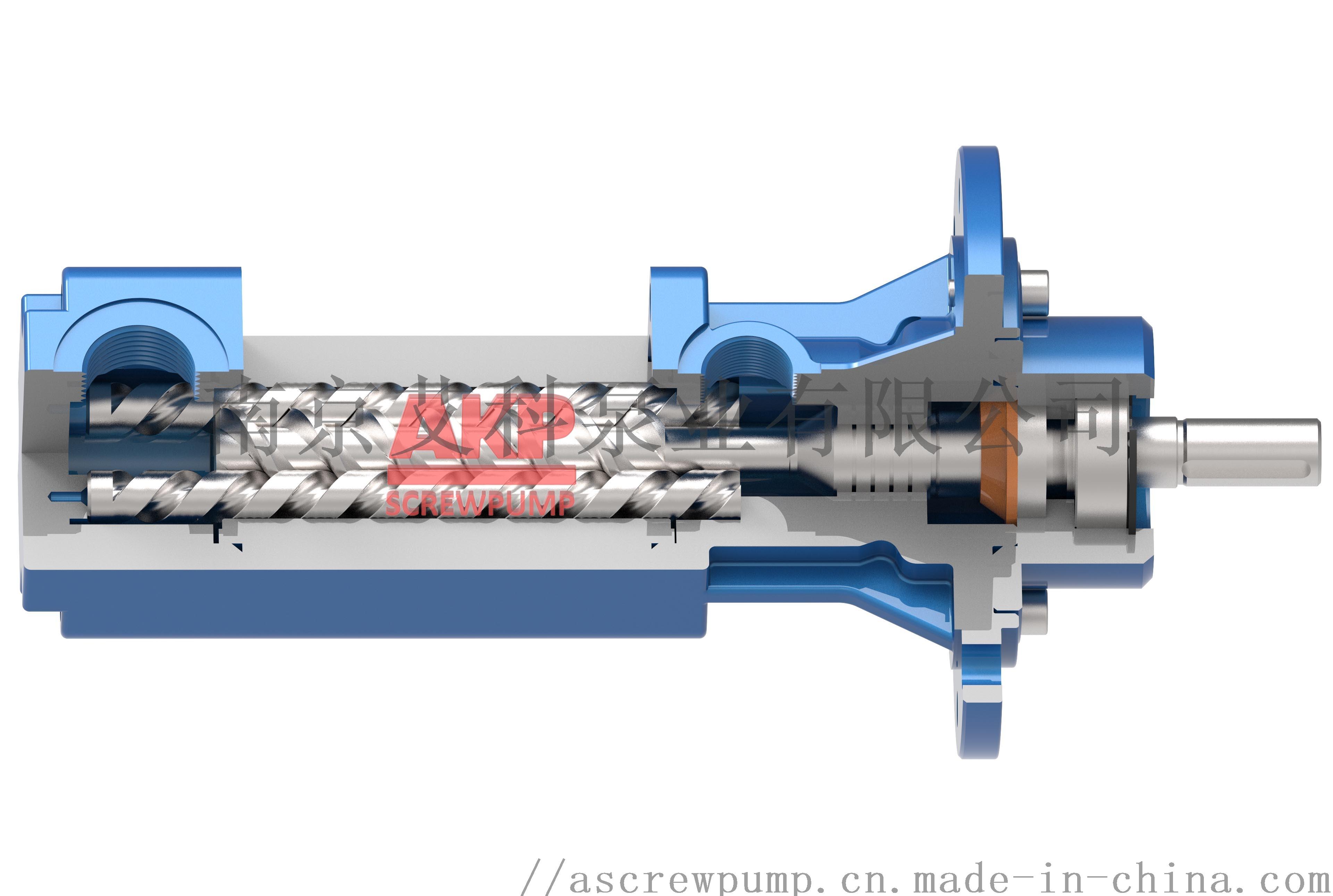 高压机床冷却泵ATS25-50-S-L-A-G-KB 流量31.6升每分钟压力70bar主轴中心出水刀具冷却排屑断屑现货配套供应卧式加工中心790998045