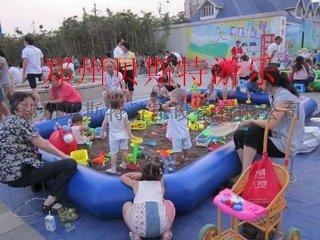 黑龍江哈爾濱充氣水池廠家熱賣沙灘池釣魚池62718685