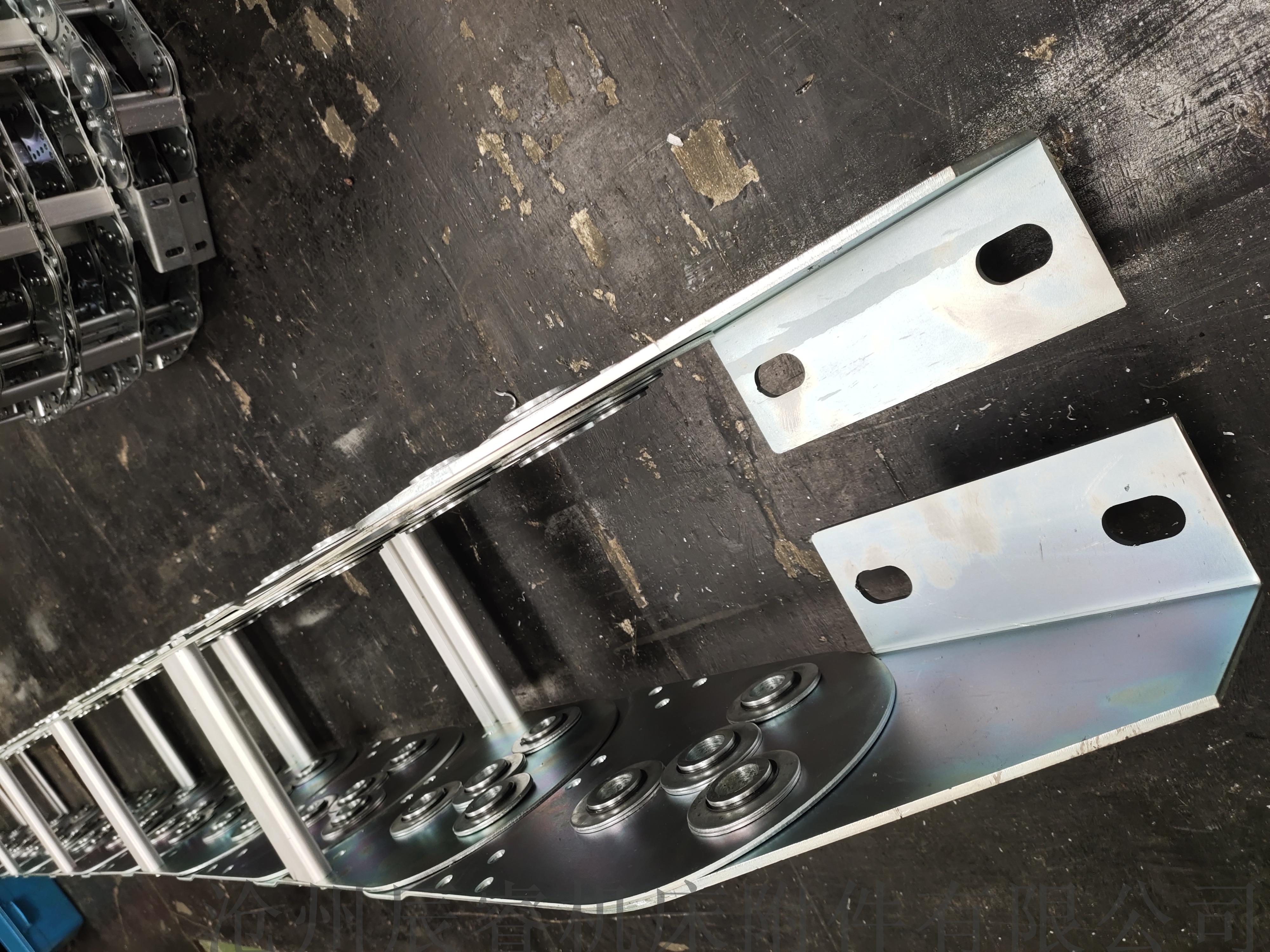 鑽機不鏽鋼鋼製拖鏈 滄州鋼製拖鏈874218285