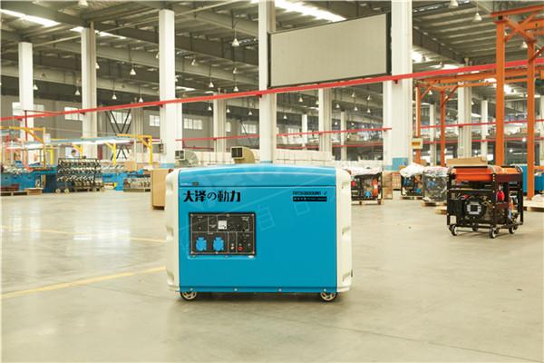 大泽动力静音5kw柴油发电机型号101614902