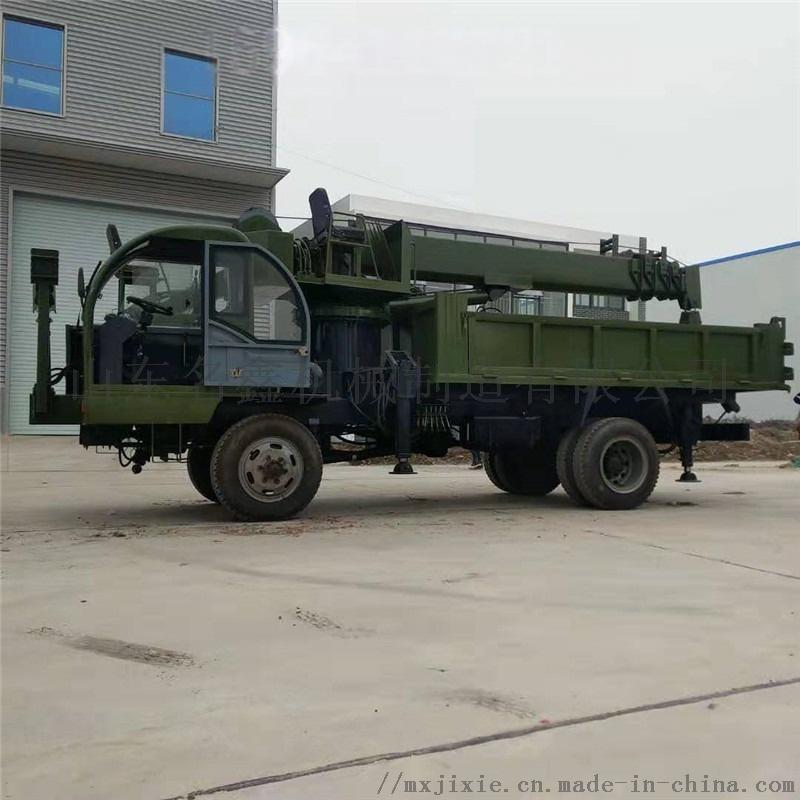 轮式多功能吊挖一体机 园林绿化挖吊一体机110199972