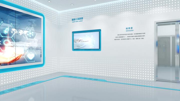 郑州企业多媒体展厅装修设计公司,企业展厅装修标准867680942