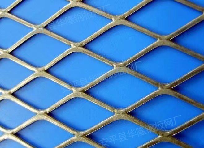 低碳钢板网,平台脚踏网,水利重工菱形金属网格39005602