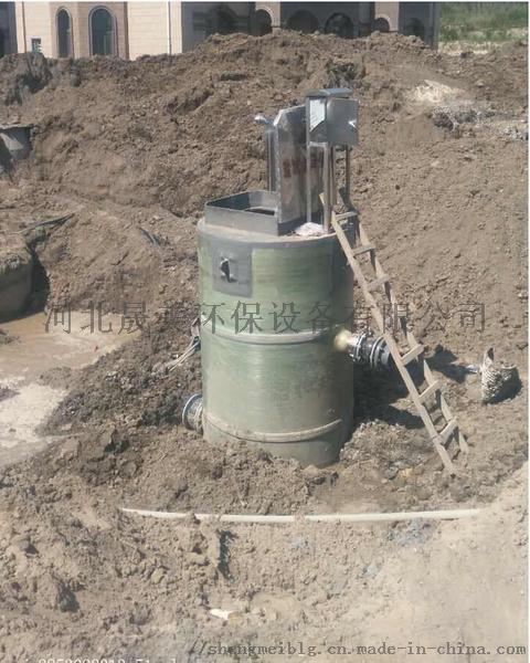 地埋式玻璃钢污水提升装置 污水提升泵站的特点858262562