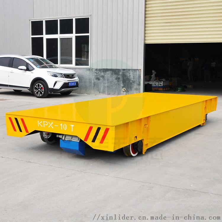 郑州定制电动平板车铸钢轮重型钢材转运车762510602