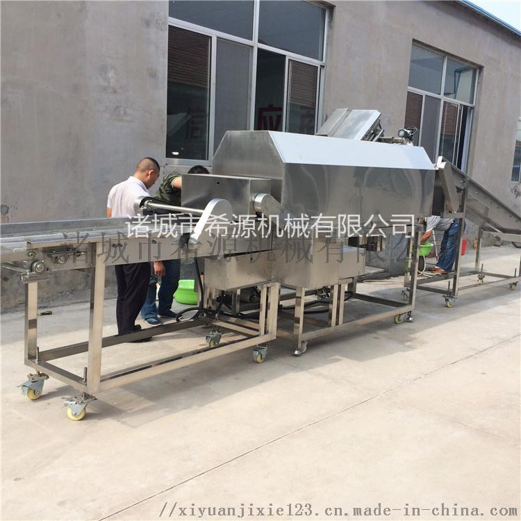 滚筒鸡块裹粉机 鸡块挂糊机 鸡块涂裹生产线设备71447892