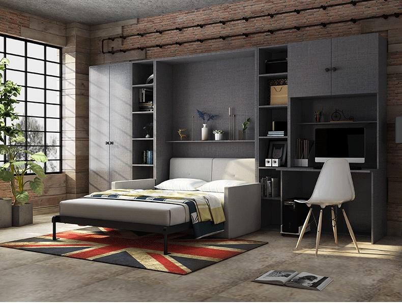 电动隐形床自制电动隐形床安装图103178905