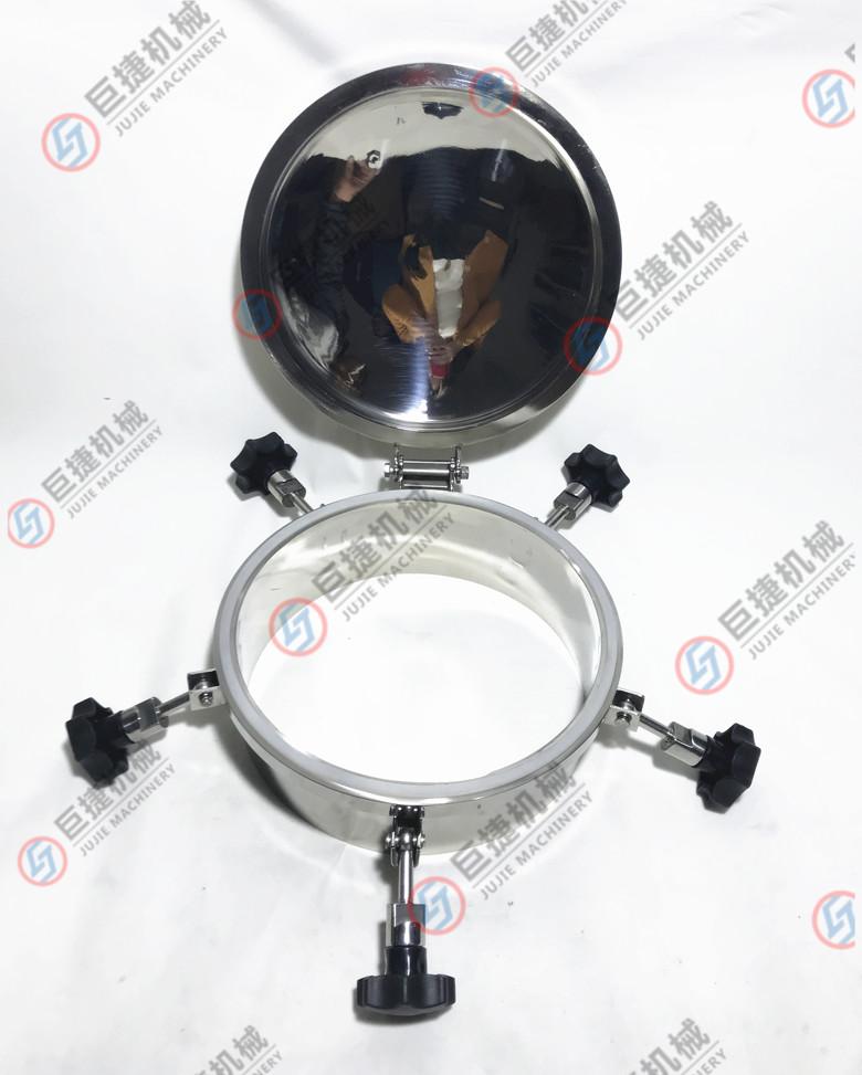 圆形压力型人孔盖 人孔3公斤圆人孔 镜面耐压人孔47899135