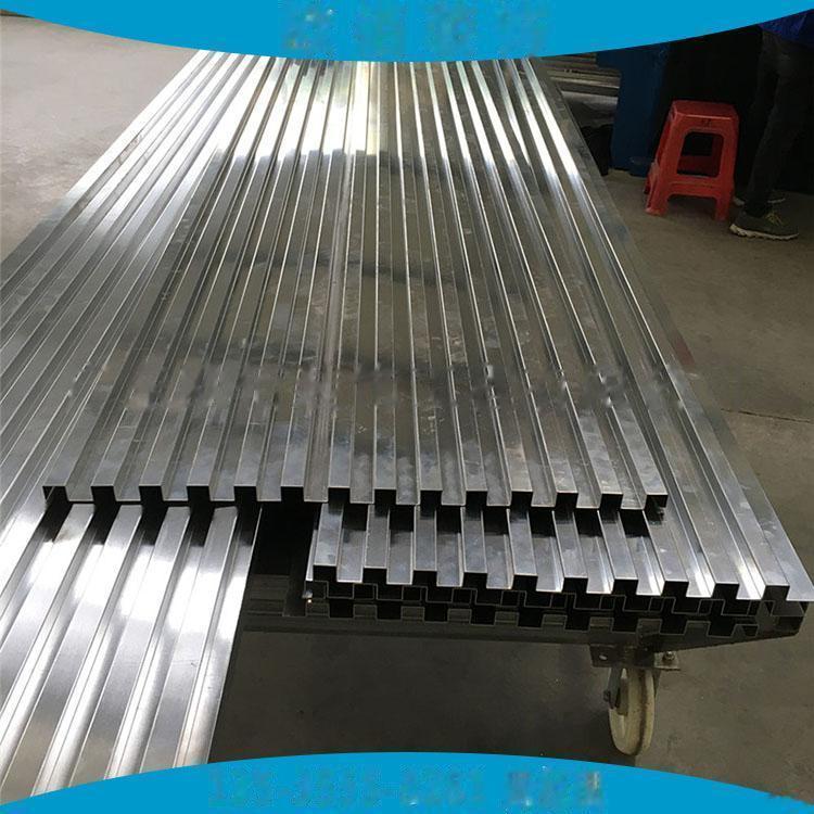 广告门头装饰凹凸型铝板定制  仿木纹长城铝板101547015