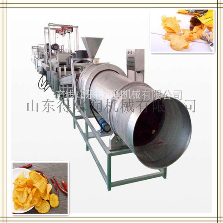 D5油炸红薯片生产线 红薯片油炸机 红薯片加工设备59876202