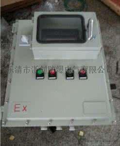 防爆接线箱300X400X170挂墙式防爆布线箱804900835
