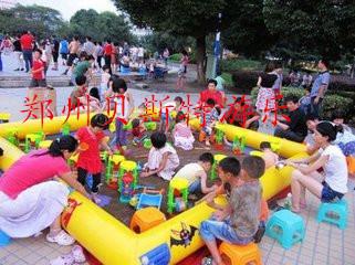 遼寧鞍山充氣水池廠家銷售造型萌萌噠充氣釣魚池774498495