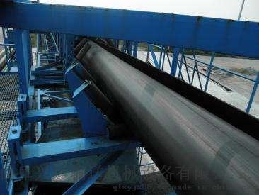 沙石用管状输送机   圆管状皮带运输机732537552