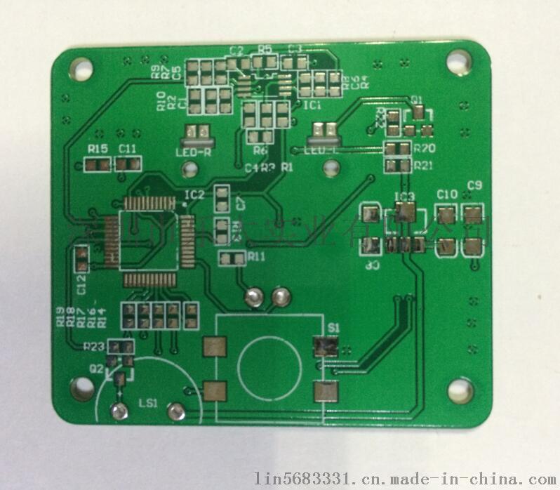 pcb线路板定制fr-4玻璃纤维板制作单面电路板打样加工抄板生产51936375