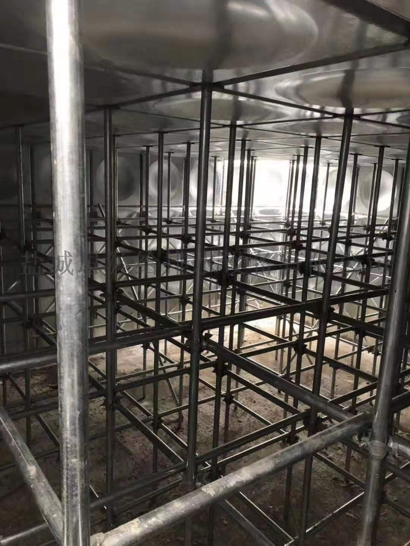 长沙服务区地埋式消防泵站消防水箱项目安装完成134079365