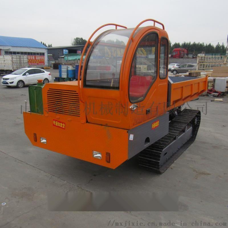 5吨履带爬山虎运输车 农用果园自卸搬运车108430112