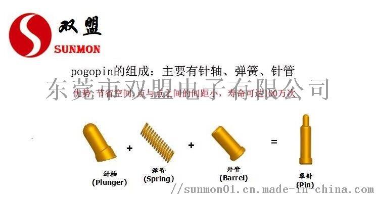 pogopin弹簧顶针定制 生产厂商+[东莞双盟]102194512