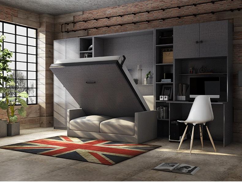 电动隐形床自制电动隐形床安装图103178895