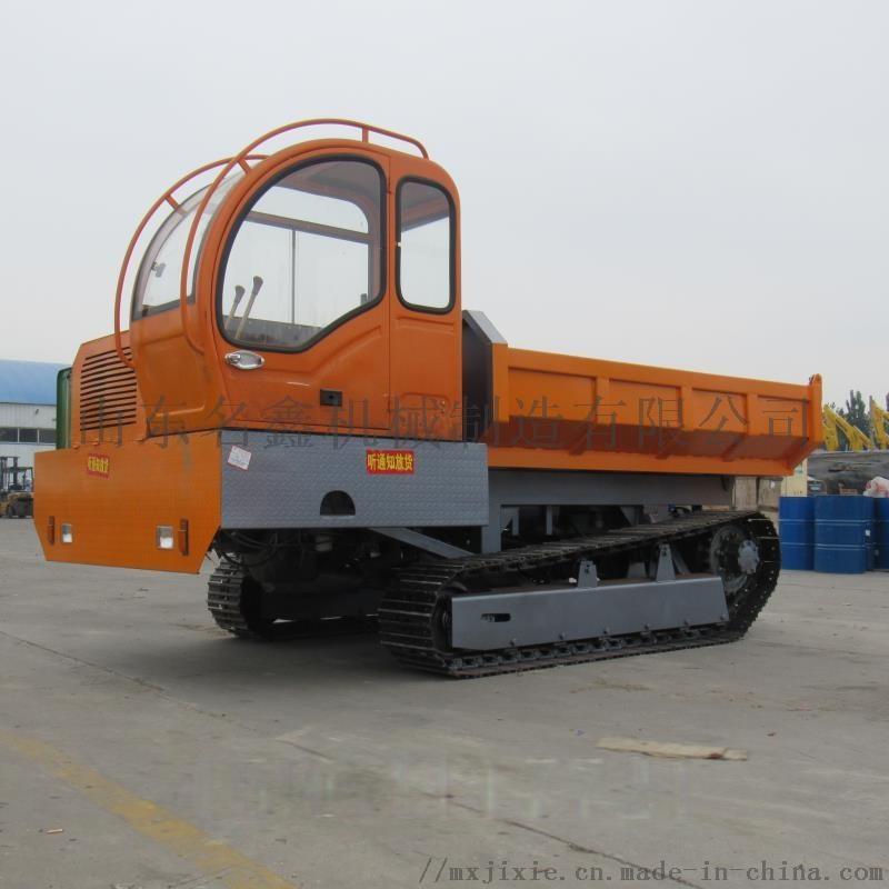 5吨履带爬山虎运输车 农用果园自卸搬运车108430102