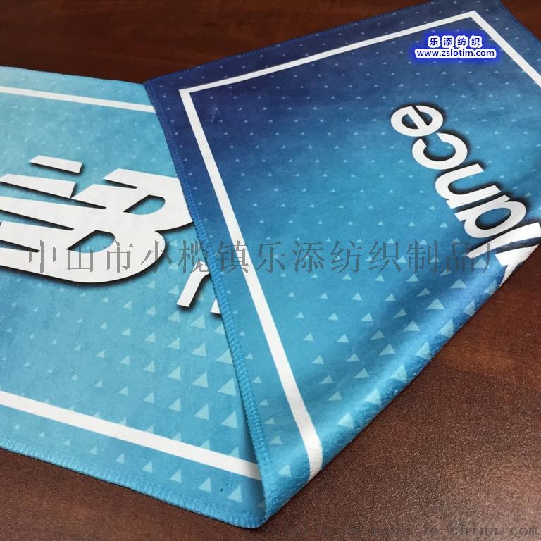 廠家定製數碼熱轉印纖維雙面絨運動巾浴巾49490015