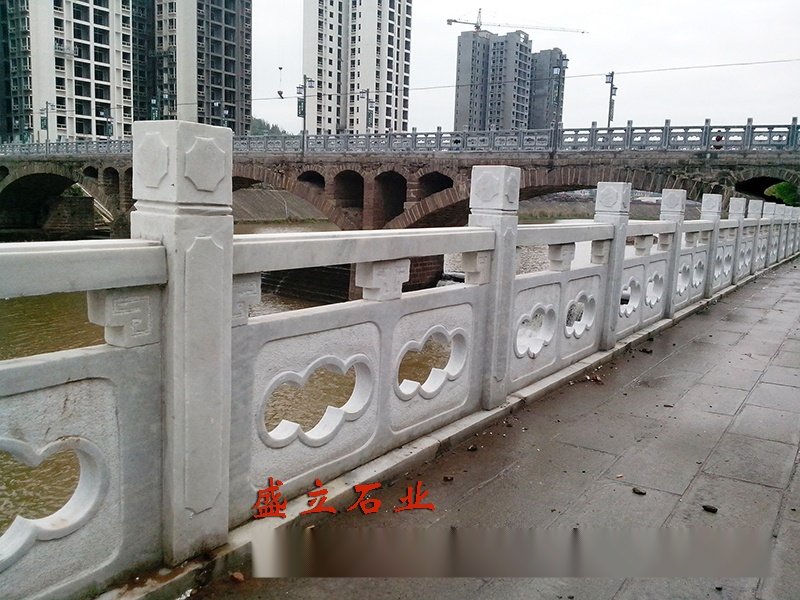 石头栏板 河道石材护栏 大理石栏杆多少钱一米80203822