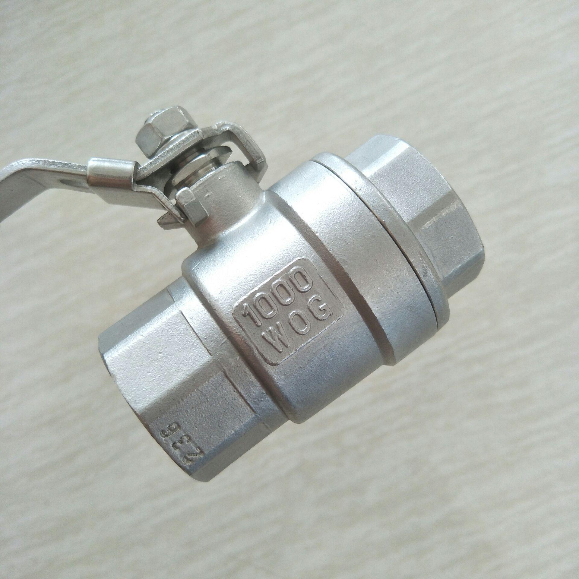 二片式不锈钢球阀DN25  2PC 球阀 1寸810950332