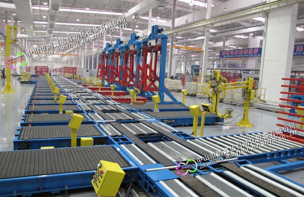 佛山配电柜生产线,中山充电桩装配线,开关柜滚筒线813940055