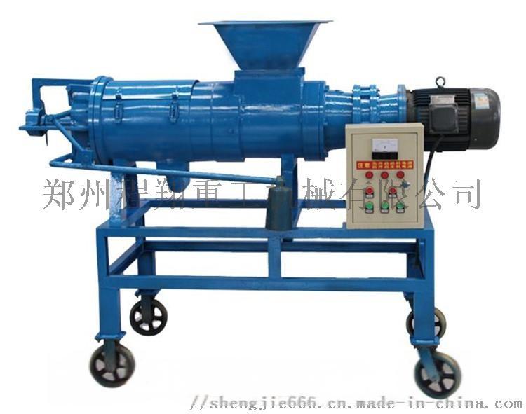 鸡粪脱水机,养殖场猪粪脱水机粪污处理过程102065285