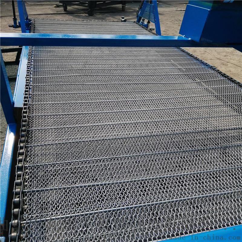 金属网带机  不锈钢网带输送机Lj1113897422