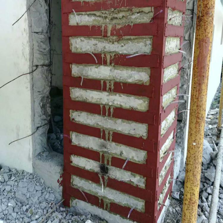 环氧树脂灌钢胶,柱子包钢加固,钢板灌注胶857638415