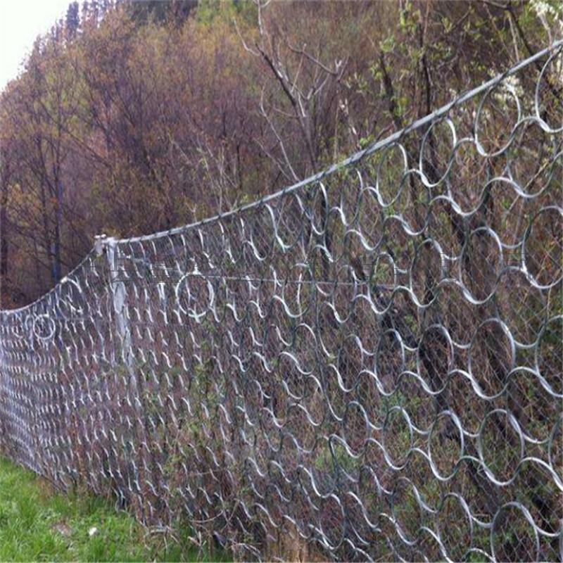 山坡竖立防护网.山坡围栏网.山坡被动环形防护网97578282