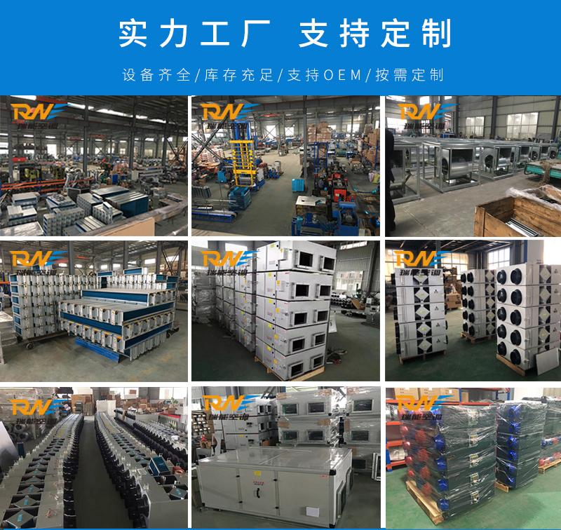瑞能网咖火锅店商用新风系统 新风换气机 全热交换器106322252
