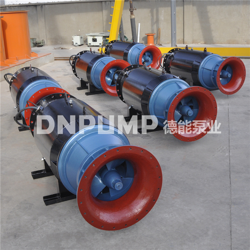 单向卧式潜水轴流泵雪橇式外形765435072