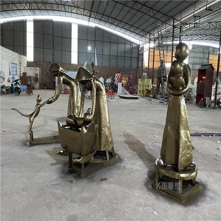 广西玻璃钢天使人物雕塑 **女神雕像146910175