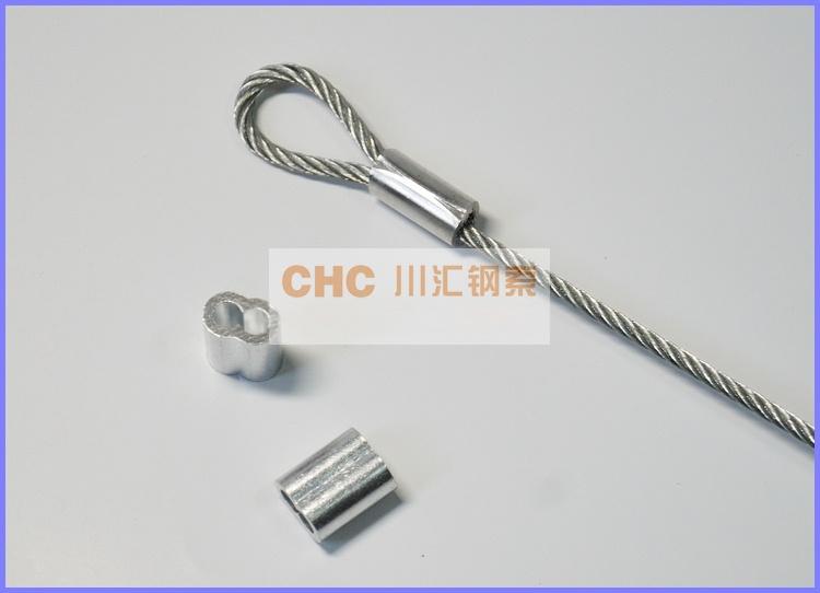 供应压制钢丝绳索具,工业用压制钢索39884702