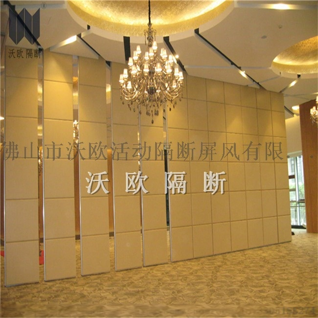 direct manufacturer WOOU -100 type no floor track acoustic operable partition wall for star hotel.jpg
