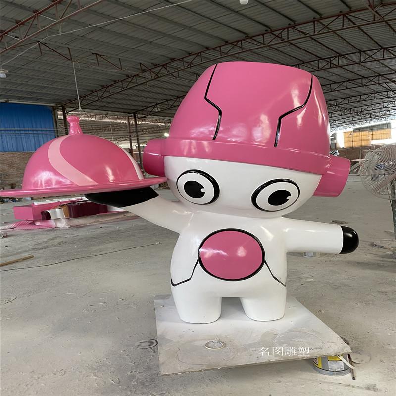 广州机器人主题餐厅雕塑 玻璃钢卡通雕塑造型904957295