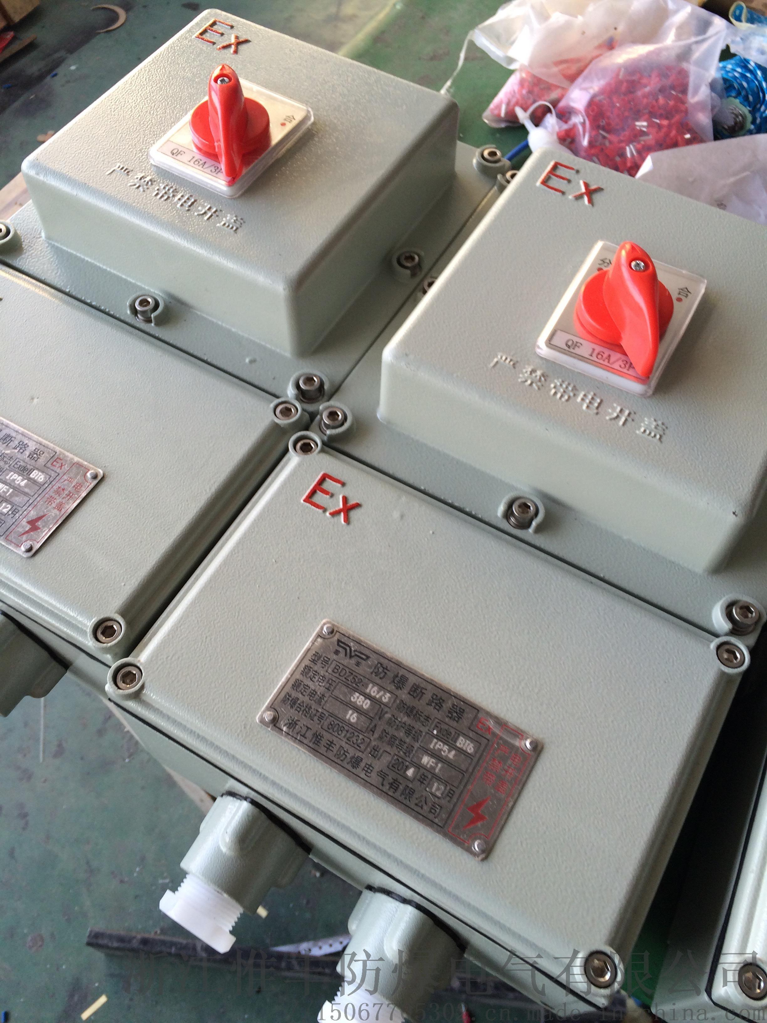 防爆斷路器BDZ52防爆漏電保護斷路器848786155