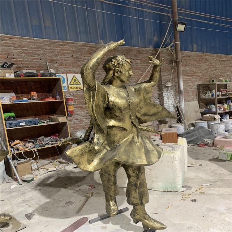 防城港玻璃钢仿铜人物雕塑服务周到146909975