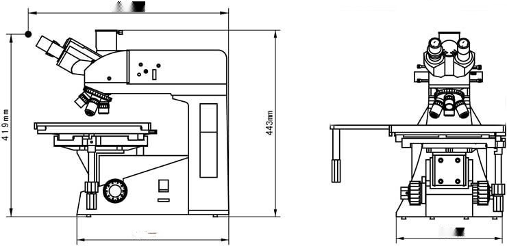 CR20-U1000型金属材料检测三目金相显微镜131123385