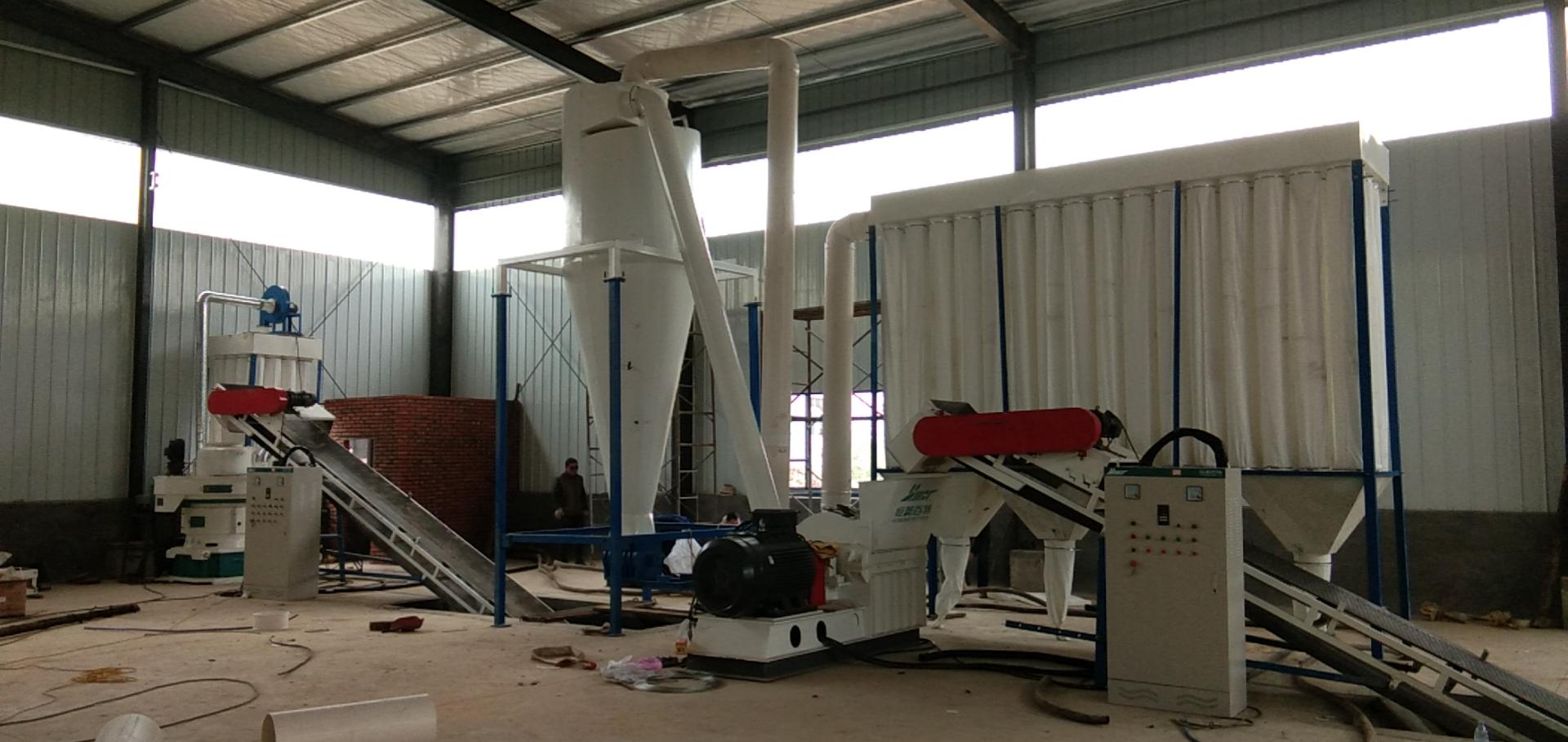 板材廢料顆粒機 木屑制粒機 山東生物質顆粒機生產線109036942