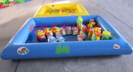 遼寧鞍山充氣水池廠家銷售造型萌萌噠充氣釣魚池774498505