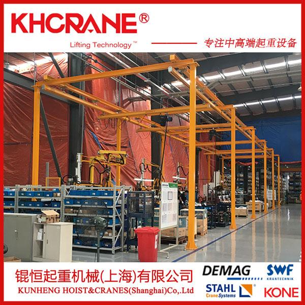kbk軌道、柔性樑軌道、鋼軌、自立式鋼結構810541582