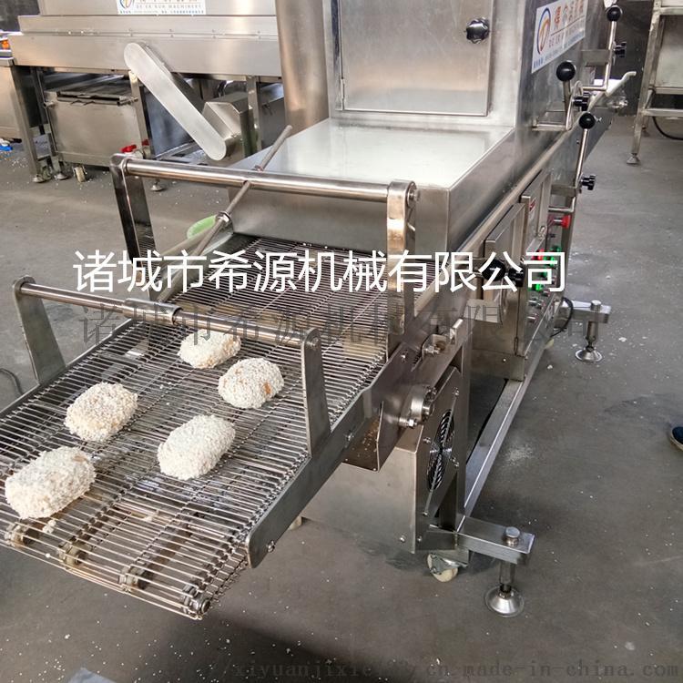 心形鸡排  粘粉设备 米香鸡块浸浆机器生产线71431732